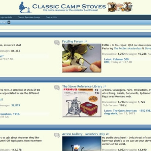 Classic Camp Stoves